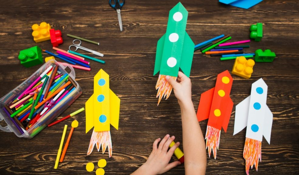Get crafty with the kids