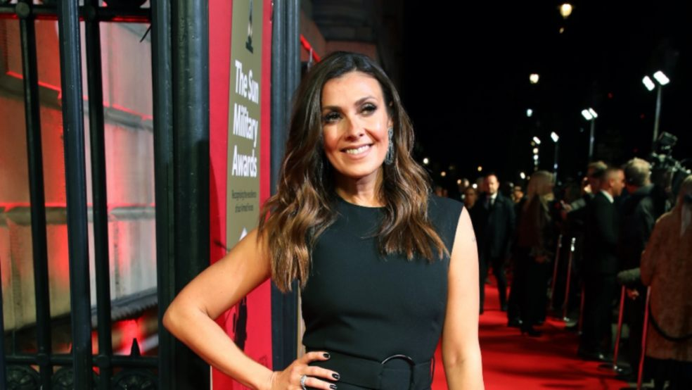 Kym Marsh attending The Sun Military Awards 2020 held at the Banqueting House, London