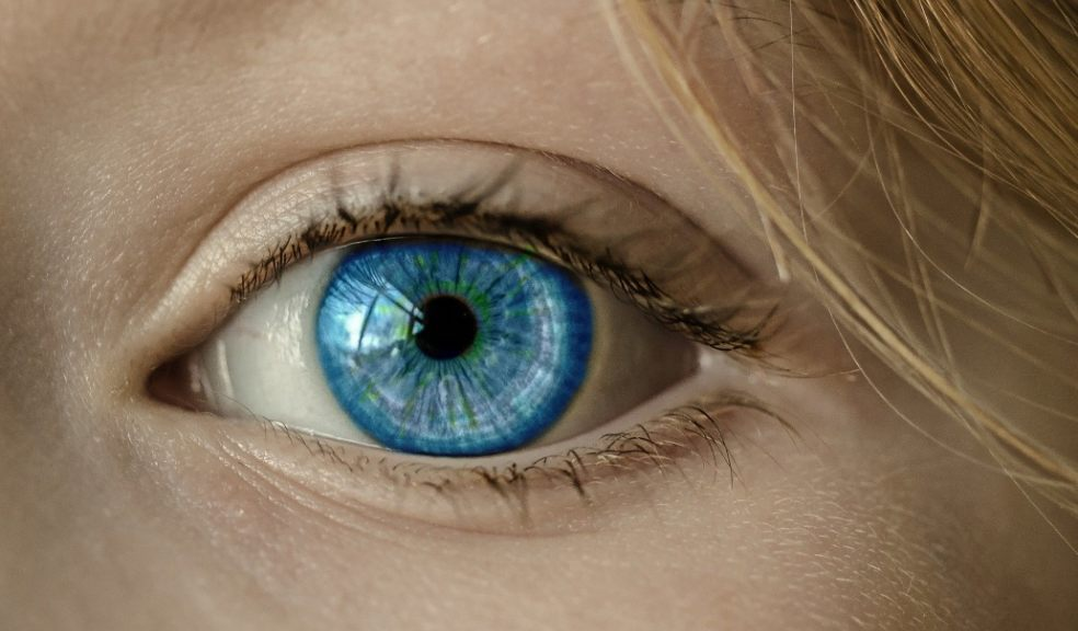 lady blue eye