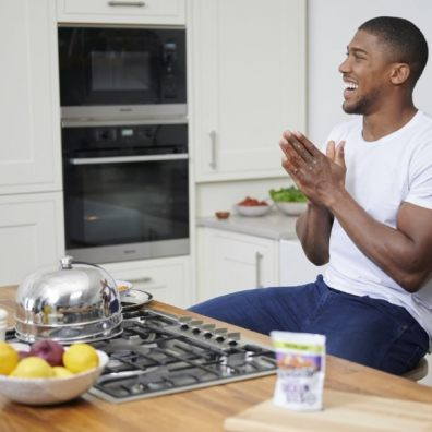 Anthony Joshua has taken part in a unique dating experiment