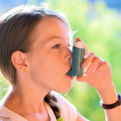 Children with asthma