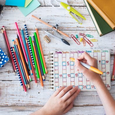 Home education and school equipment. Getty Images/iStockphoto