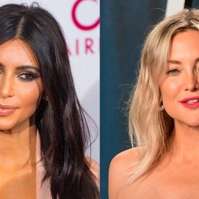 Kim Kardashian and Kate Hudson celebrity podcasts