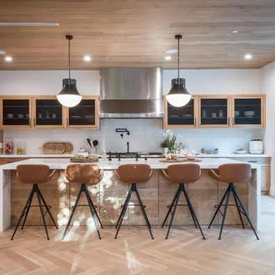 When designing your dream kitchen, it's important to consider where your light sources