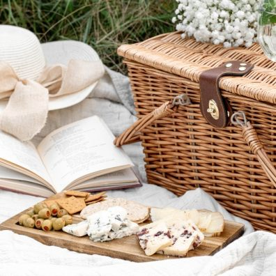 Revitalise your picnic basket with these picnic treats.
