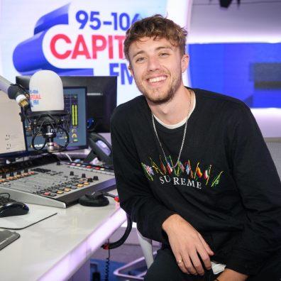 Roman Kemp at Capital Radio