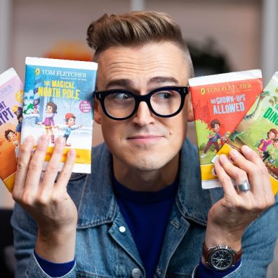 McFly front-man Tom Fletcher is the new Happy Readers author for McDonald'
