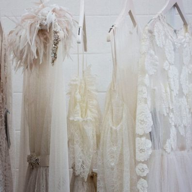 A new wave of savvy brides on a budget have emerged and have turned to renting their wedding dresses