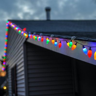 Take your neighbours into consideration when putting up your lights