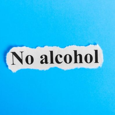 No alcohol - dry January