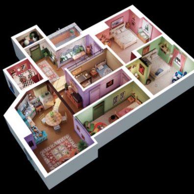 monicas apartment in friends